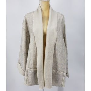 Chico's | Boiled Wool Shine Jacket -3 (XL 16/18)